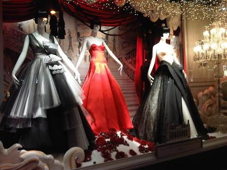 Dior for Printemps Window Display!