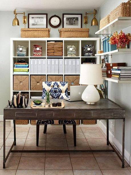 decor home office2 Home Office Decorating Ideas HomeSpirations