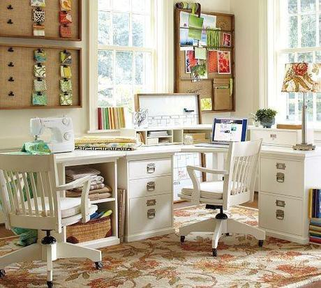 Decorating office ideas architecture design for Decorating ideas for home office