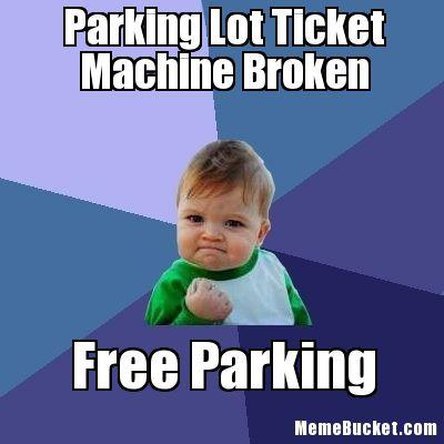 On Parking Lots and Ticket Slots