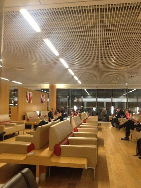 Paris Charles de Gaulle, Terminal 2E, Hall L, Business Lounge
