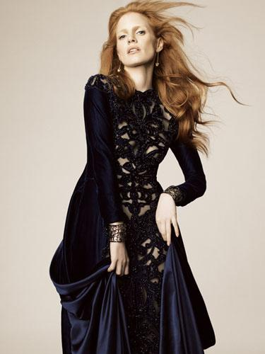Fashion Friday--Jessica Chastain's Role Play