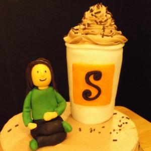 Happy Birthday, My Coffee-Loving Friend: How to Make a Coffee Cup Cake Topper