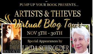 Artists & Thieves by Linda Schroeder Guest Post