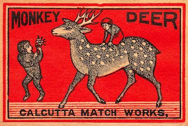 Fascinating Matchbook Art
