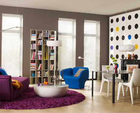 Pop Art Wall In A Modern Living Room
