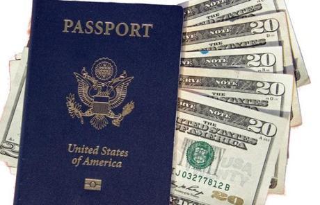 US Pasport and Money