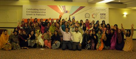 Women Entrepreneurs Mark Global Entrepreneurship Week in Pakistan