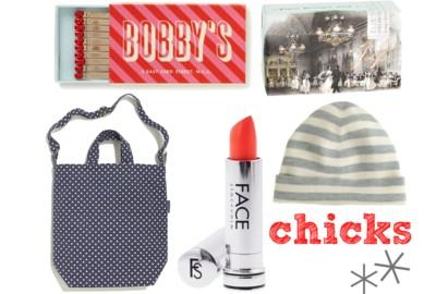 Gift Guide: Chicks