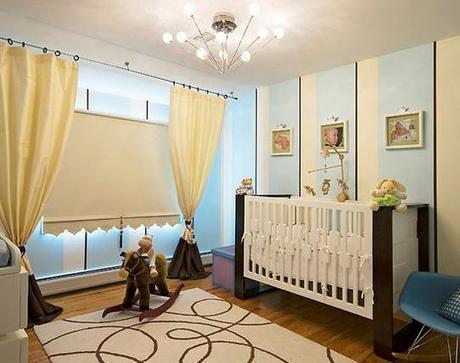 decor boys nursery3 Surprise: Its a Boy, not a Girl! Re decorating the Nursery HomeSpirations