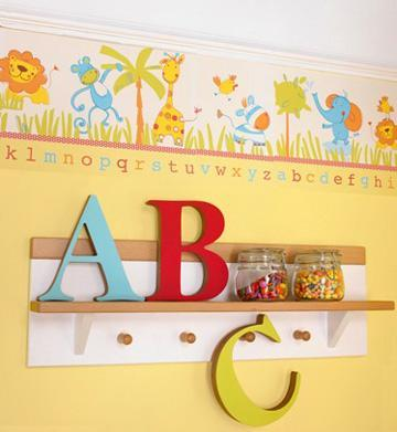 decor boys nursery1 Surprise: Its a Boy, not a Girl! Re decorating the Nursery HomeSpirations