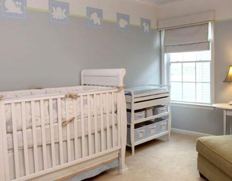 decor boys nursery7 Surprise: Its a Boy, not a Girl! Re decorating the Nursery HomeSpirations
