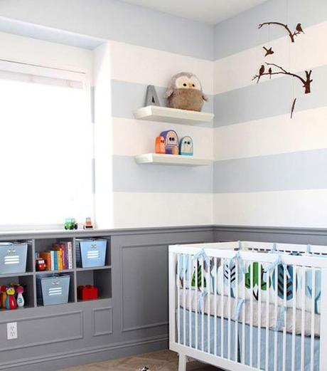 decor boys nursery8 Surprise: Its a Boy, not a Girl! Re decorating the Nursery HomeSpirations