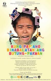 Ateneo Entablado presents Jose Javier Reyes' Kung Pap'ano Binabalatan ang Butung-Pakwan, Nov. 24