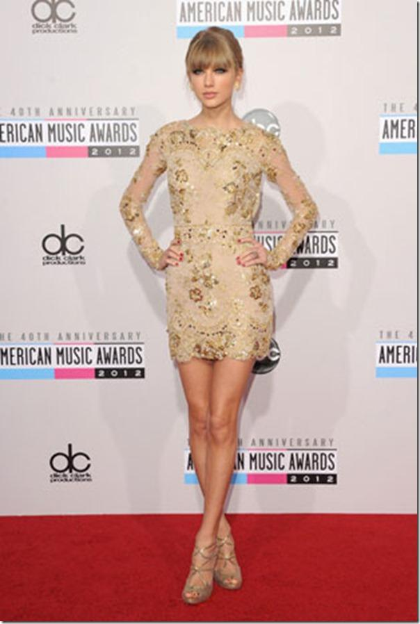 AMAs 2012 - Taylor Swift