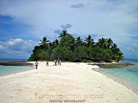 Whacky Notes: Getting to Kalanggaman Island