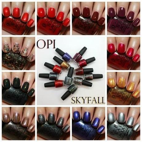 OPI Skyfall Collection ♥ 007 Fever