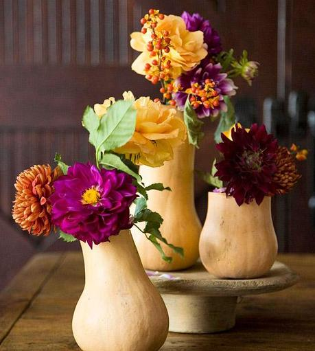 Elegant and easy thanksgiving centerpieces paper