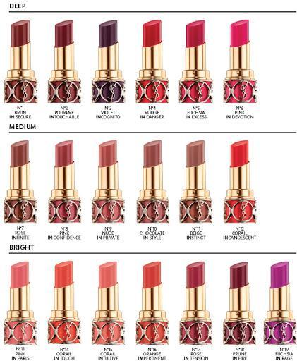 ysl beauty paris lipstick