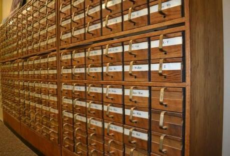 Card Catalog? What's a Card Catalog?