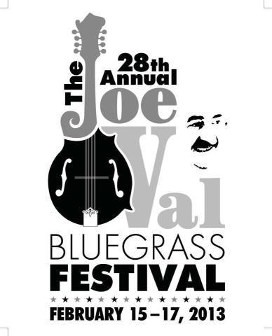 BBU Announces 2013 Joe Val Bluegrass Festival Graphic Design