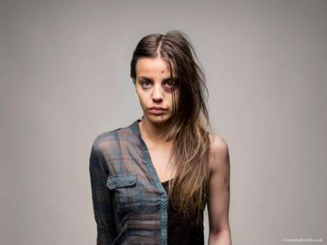 Half, Before and After Composite Portraits of Drug Abuse by Roman Sakovich