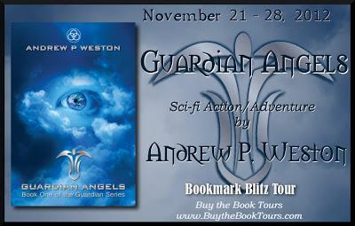GUARDIAN ANGELS - BOOKMARK  BLITZ  TOUR