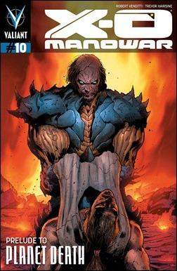 X-O Manowar #10 Cover - Hairsine