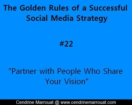 Golden rule social media strategy 22