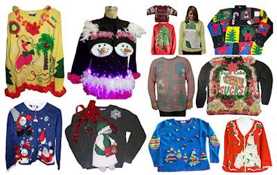 12 Ugly Christmas Sweaters