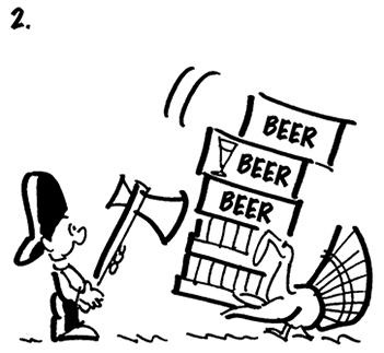 Jive Turkey Drinking Game