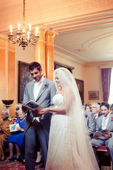 wedding ceremony walcot hall