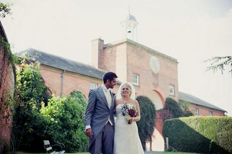 walcot hall wedding couple
