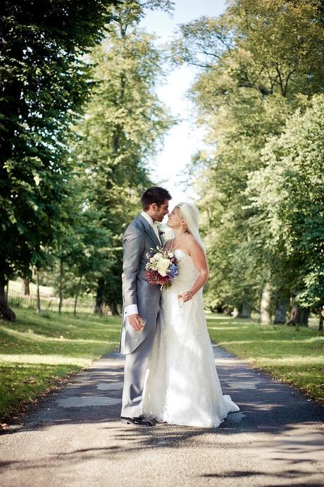 just married walcot hall