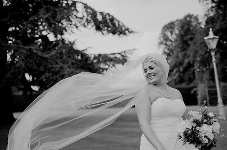bridal portrait walcot hall