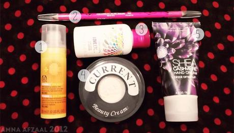 Beauty Products that I use