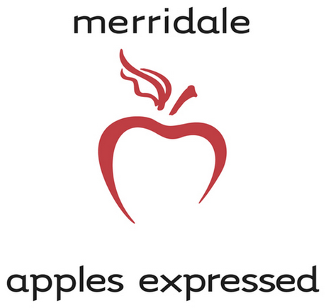 There's a heart at the heart of the Merridale Estate Cidery logo