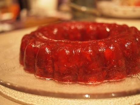 Grandma Bebe's Grand Marnier Cranberry Mold
