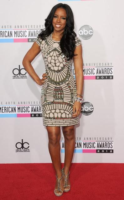 Beautiful Best-Dressed Celebrities at the American Music Awards 2012