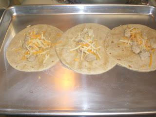 Foodie Friday:  Easy Cheddar Chicken Tacos