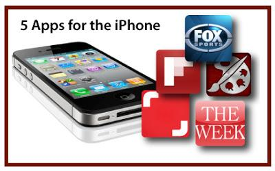 Potpourri Friday: 5 Favorite Apps for the iPhone
