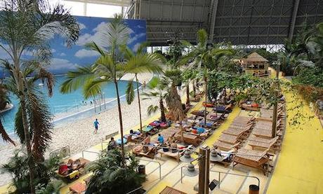 The World's Largest Indoor Beach