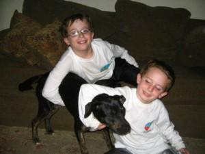 Rescue Dog Helps Boy Cope With Asperger's