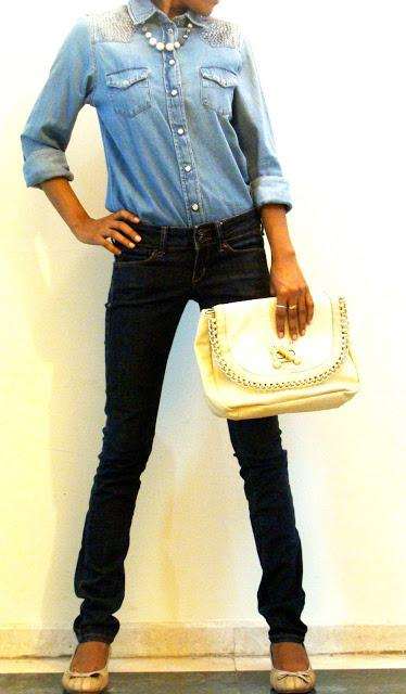 Denim on Denim...my style!