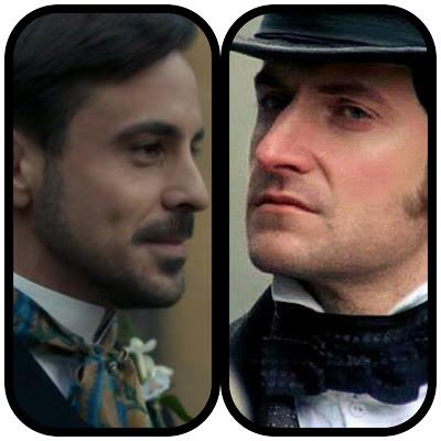 VICTORIAN HEROES:  MR MORAY vs MR THORNTON