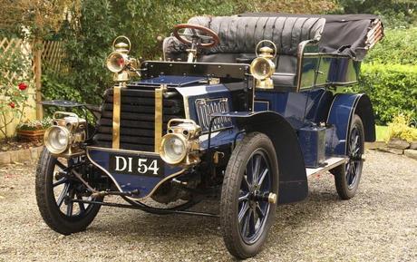 1903 Gladiator 10hp Twin-Cylinder Side-Entrance Tonneau
