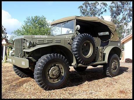 1942 Dodge W56 Command Car