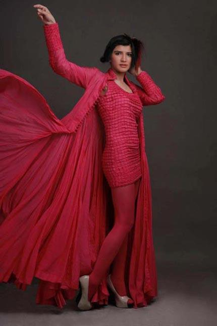 Veet Miss Super Model Contest 2012-2013 Designer Adnan Pardesi Outfits a Lecherous Reckon