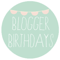 Blogging Birthdays