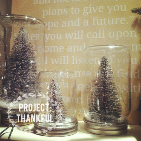 Project: Thankful // Day 24 + a DIY